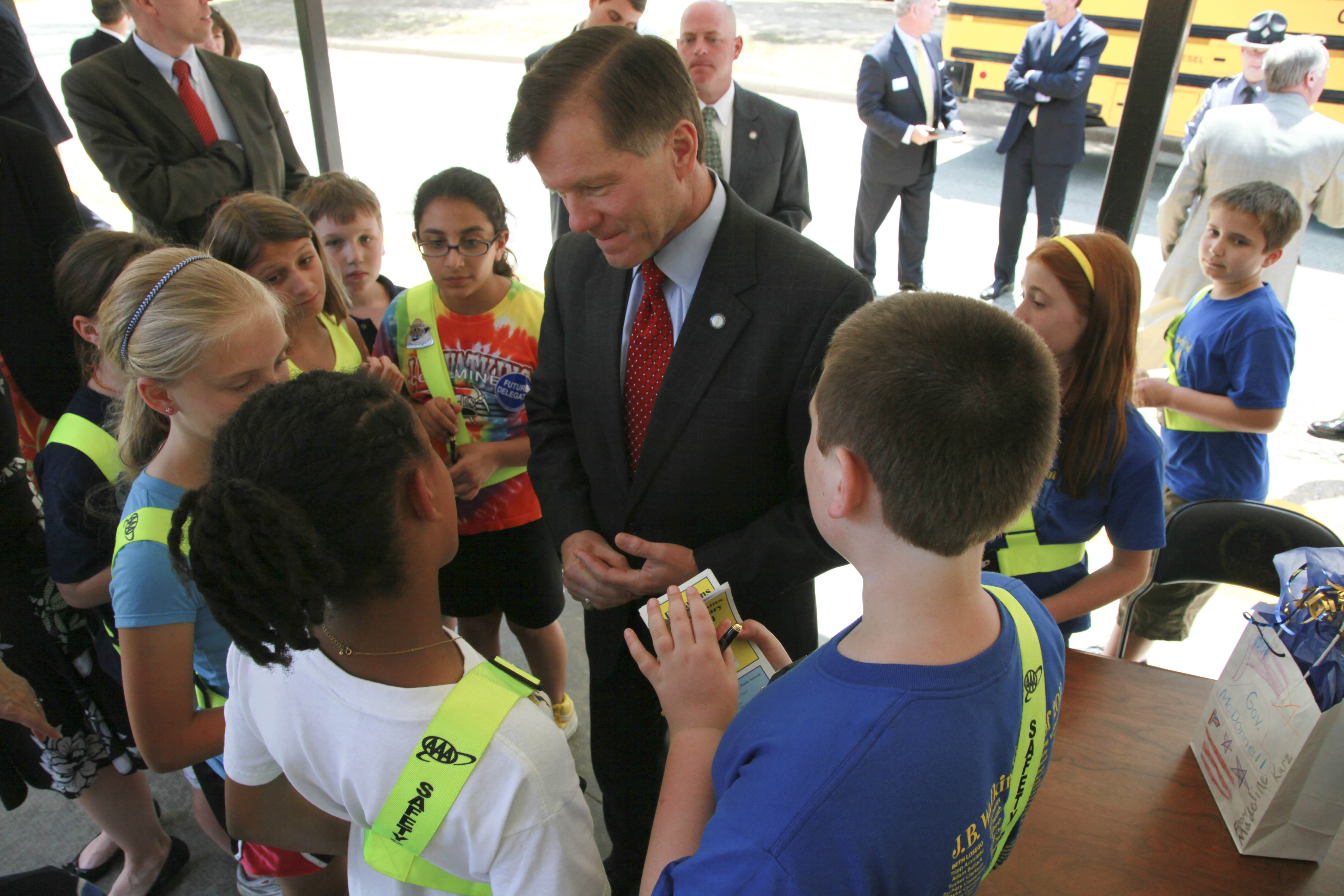 McDonnell signs school safety bills into law | DV Archive